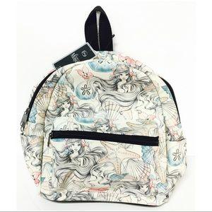 NEW~ Disney Ariel Little Mermaid Mini Backpack Bag