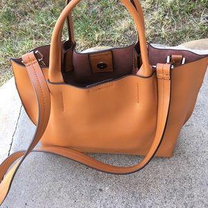 Brand New Tan Leather Bag