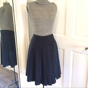 The Limited Dresses & Skirts - Stylish Pleated Black Skirt