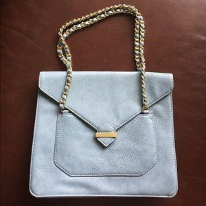 Olivia + Joy Handbags - Olivia + Joy Baby Blue Handbag