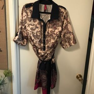 Pure Energy mid sleeve mid length dress. Size 2x