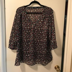 Eloquii Tops - Eloquii mid sleeve blouse . Size 16