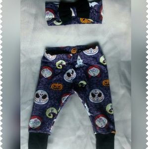 unbranded Other - Baby girl nightmare before christmas pant set