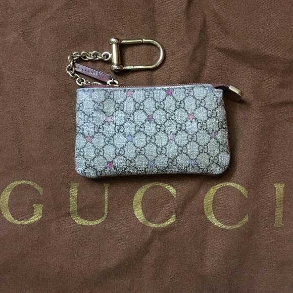 a3f6521b3c5f6 Gucci Accessories - 💯AUTH RARE GUCCI KEY CHAIN CLES COIN STARS WALLET