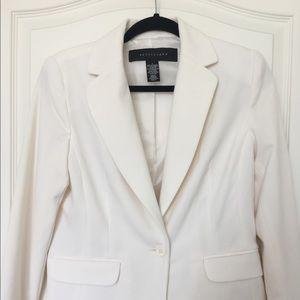 Apostrophe Jackets & Blazers - Apostrophe White Blazer