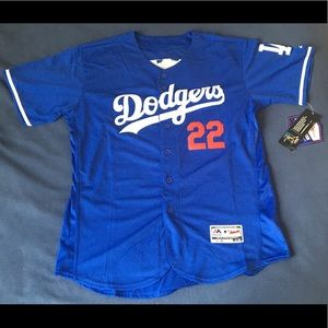 c333c845a7d Shirts - Los Angeles Dodgers  22 kershaw blue jersey New L