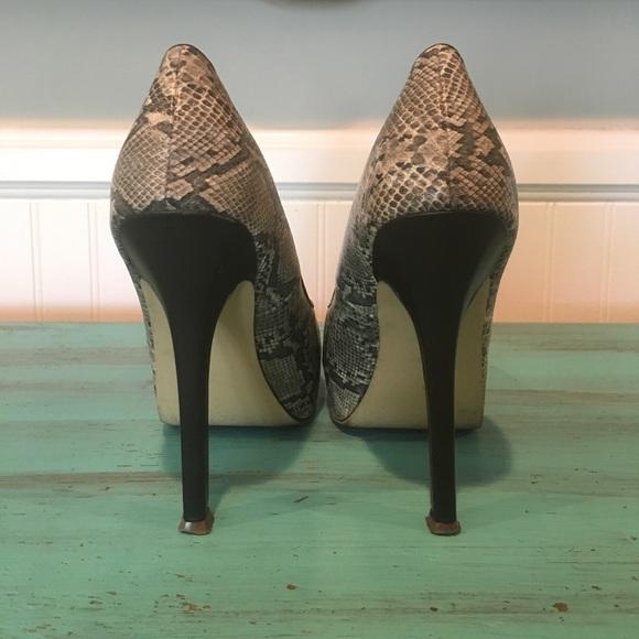 d9fd068cbc4 Miss KG Kurt Geiger Faux Snakeskin heels