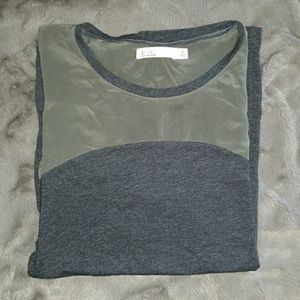 hi-line Tops - MADEWELL Silk/Cotton top