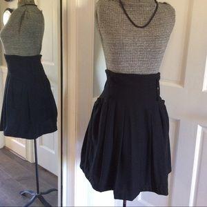 H&M Dresses & Skirts - H&M High Waisted Black Pleated Skirt
