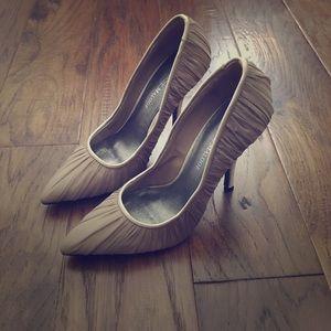 adrienne maloof Shoes - Adrienne Maloof nude heels