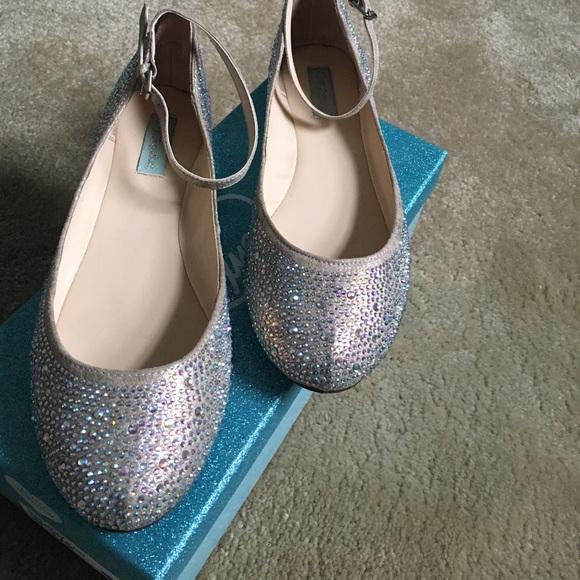 Betsey Johnson Blue Bottom Shoes