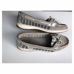 Sperry Top-Sider Shoes - Sperry Women's Angelfish Breton Stripe Boat Shoe