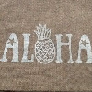 Handbags - New Aloha Jute Bag