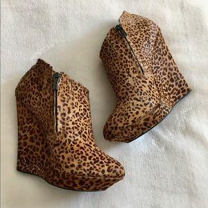 Colin Stuart Shoes - Colin Stuart Leopard Booties