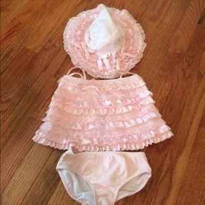 Kate Mack Other - Kate Mack 4t bathing suit and hat