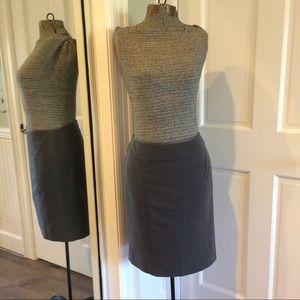 Hillard & Hanson Dresses & Skirts - Dark Grey Pencil Skirt