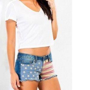 YMI Pants - YMI patriotic shorts
