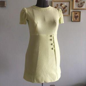  VINTAGE mod 60s mini twiggy dress
