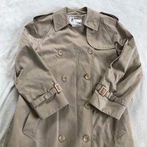 London Fog Jackets & Blazers - London Fog Long Double Breasted Trench Raincoat