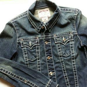 True Religion Jackets & Blazers - Swarovski True Religion Jean Jacket