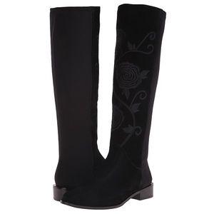 Vaneli Shoes - Vaneli Radius Black Nival Suede Boot