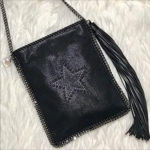 Stella McCartney Handbags - NWT Stella McCartney Star in Studs Flat Falabella