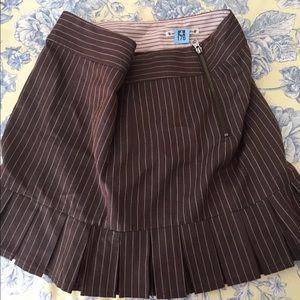 Nanette Lepore Dresses & Skirts - NANETTE LEPORE brown schoolgirl skirt