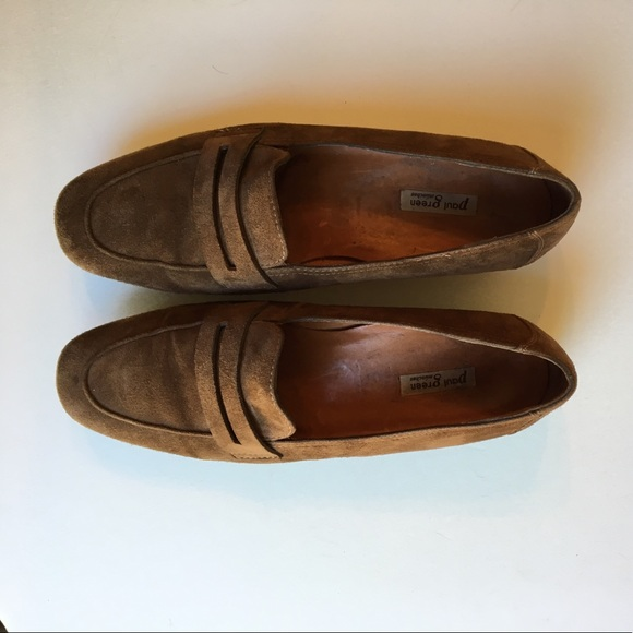 paul green paul green brown suede loafers 7 5 from jeanne 39 s closet on poshmark. Black Bedroom Furniture Sets. Home Design Ideas