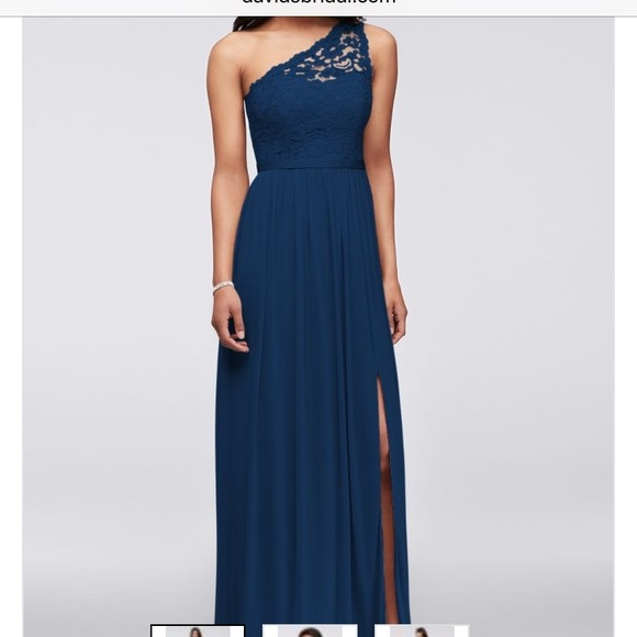 Black Floral Long-Sleeve A-Line Dress.