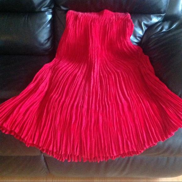 Longhorn Dresses & Skirts - Stunning Full Length Pleated Boutique Skirt