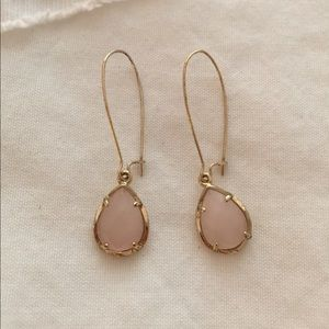 Blush Kendra Scott Earrings