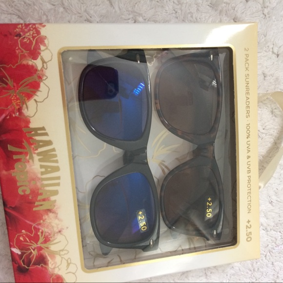9bb55d3b7e 2 pack sunglasses readers 2.50