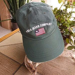 Ralph Lauren Black Label Accessories - *RARE* Vintage RL USA Flag Cap