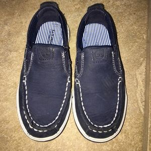 Timberland Other - Timberland loafers navy toddler sz 10