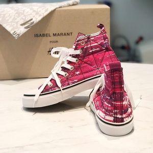 Isabel Marant pour H&M Shoes - Isabel Marant pour H&M Canvas Hightop Chucks