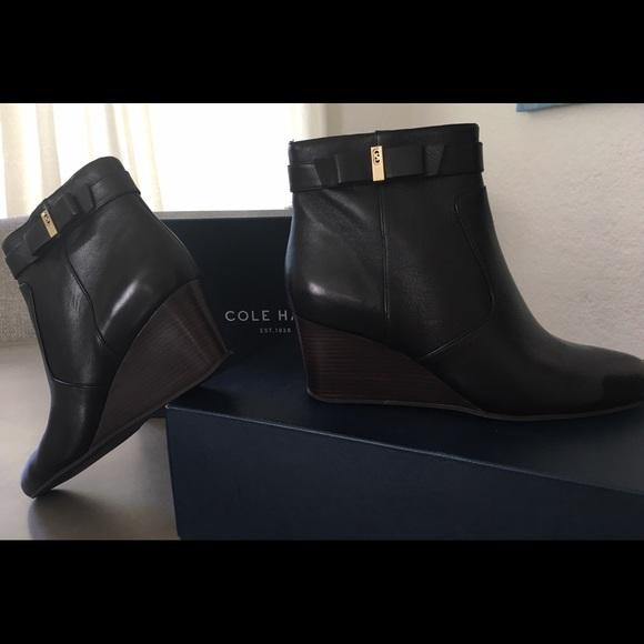 New Cole Haan Elsie Booties Size 85b