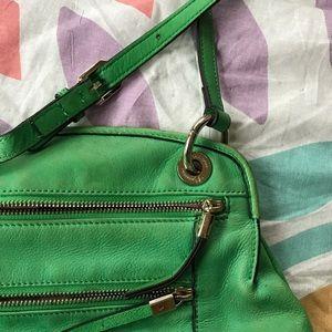 b. makowsky Handbags - GORGEOUS B. Makowsky Green Crossbody