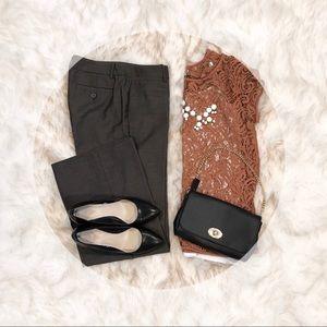 NEW YORK & COMPANY Brown dress pants