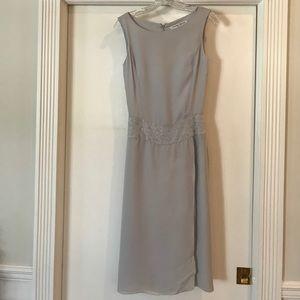 Carolina Herrera Dresses & Skirts - Carolina Herrera dove grey silk dress