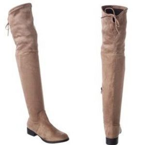 Catherine Malandrino Shoes - NIB! Catherine Malandrino Taupe OTK Boots