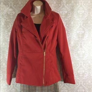Charlotte Russe Burnt Orange Jacket.  Size S