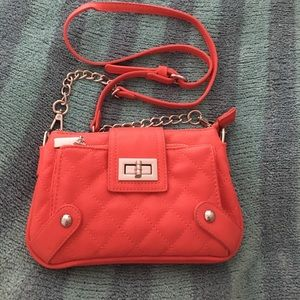 Charming Charlie Handbags - Coral purse (not as bright as the pic)