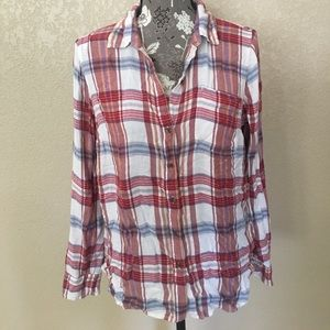 🎁  Lucky Brand flannel