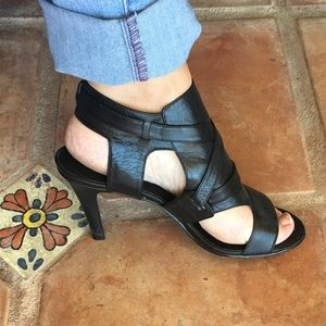 Nine West Black Alanao Heels