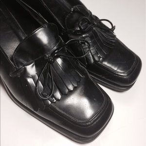 Coach Shoes - Coach Black Leather Loafers Shoes