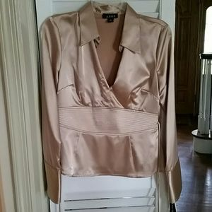A. Byer Tops - Gold blouse