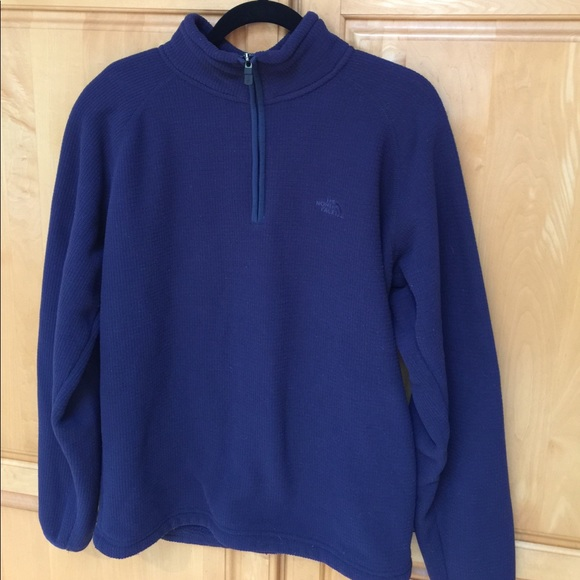 21655d2d1 ✨Men's waffle fleece North Face 1/4 zip up✨