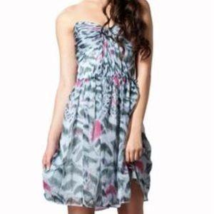 ERIN by Erin Fetherston Dresses & Skirts - Erin Fetherston Blue Animal Print Dress Size 10