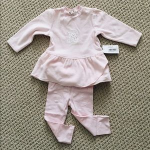 Kanz Other - NWT Pink Baby Top and Leggings Set