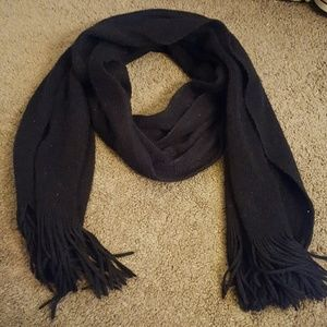 Mossimo Supply Co. Accessories - Thick Black Scarf